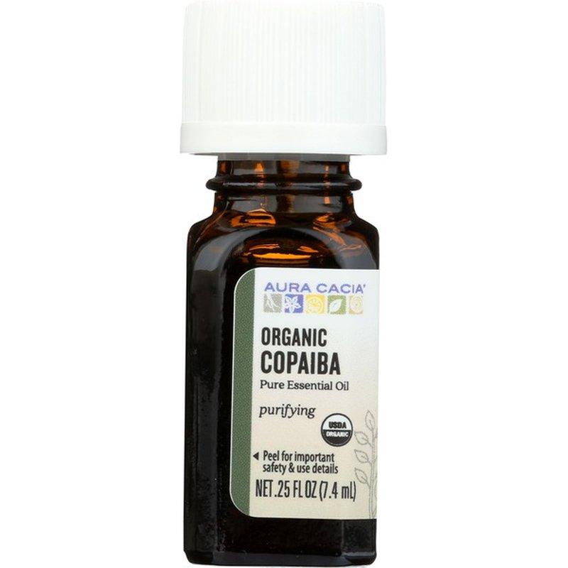 Aura Cacia Organic Copaiba Pure Essential Oil