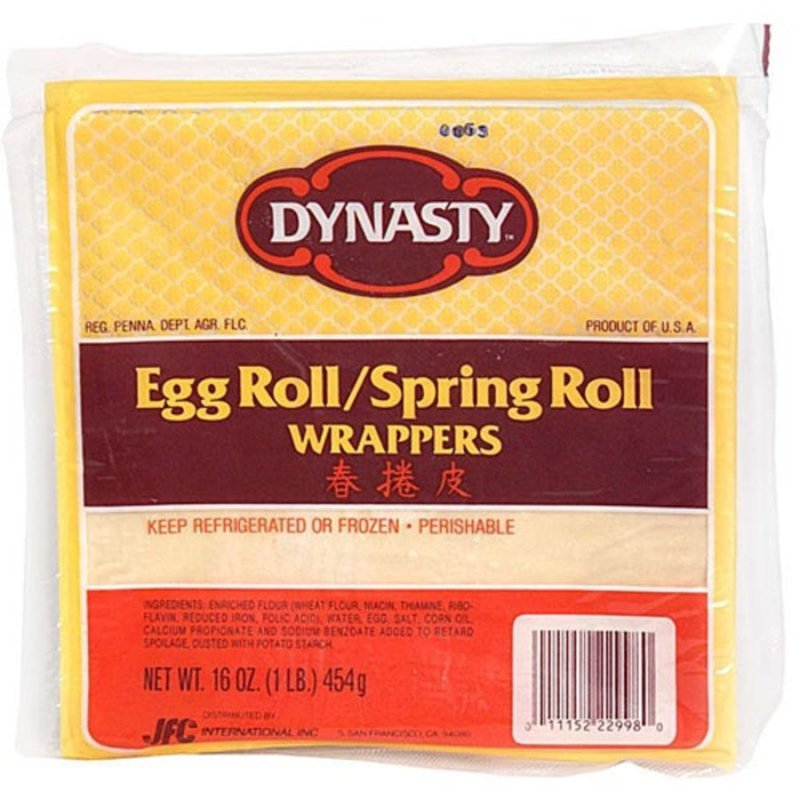 Dynasty Egg Roll/Spring Roll Wrappers