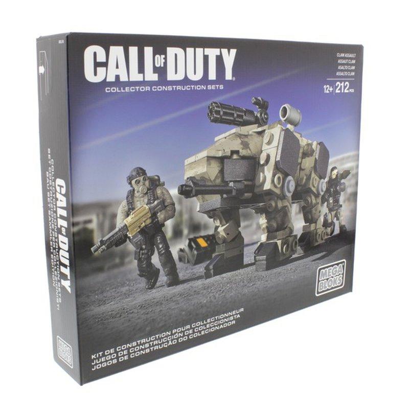 Mega Bloks Call Of Duty Claw Assault Set