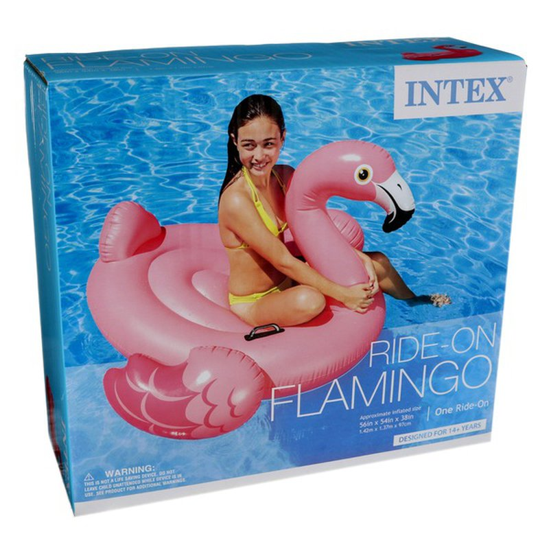 Intex Recreation Inflatable Ride-On Flamingo Float