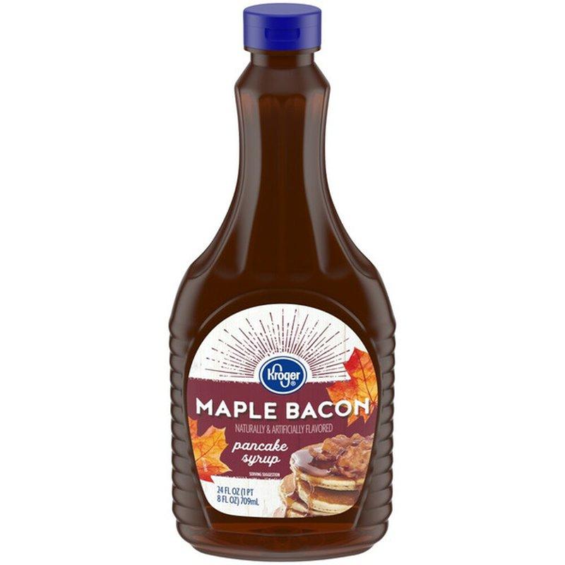 Kroger Maple Bacon Pancake Syrup
