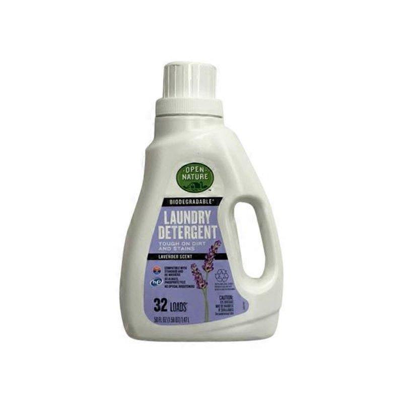 Open Nature Laundry Detergent Lavender Scent 50 Fl Oz Instacart