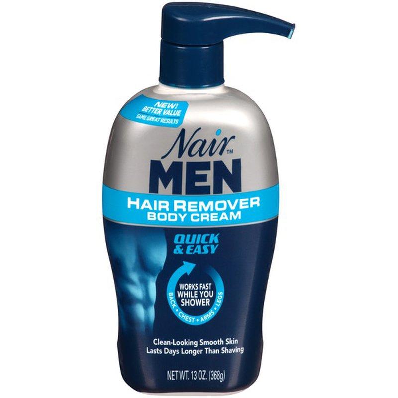 Nair Hair Remover For Men Hair Remover Body Cream 13 Oz Instacart