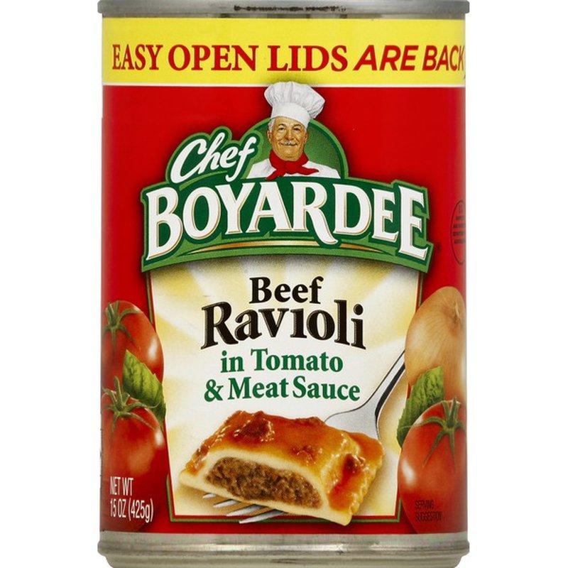 Chef Boyardee Beef Ravioli