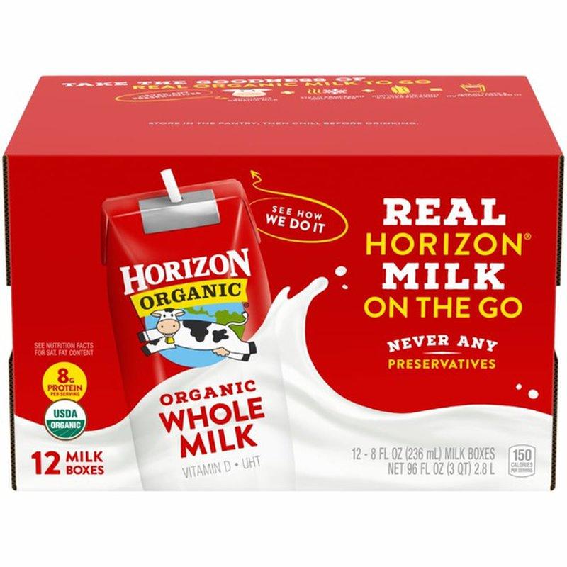 Horizon Organic ASEP Whole Milk