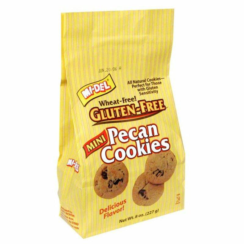 Mi-Del Wheat-Free Gluten-Free Mini Pecan Cookies