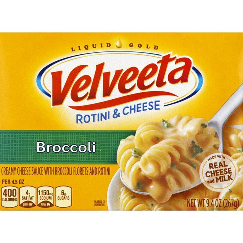 Kraft Velveeta Kraft Broccoli Rotini & Cheese