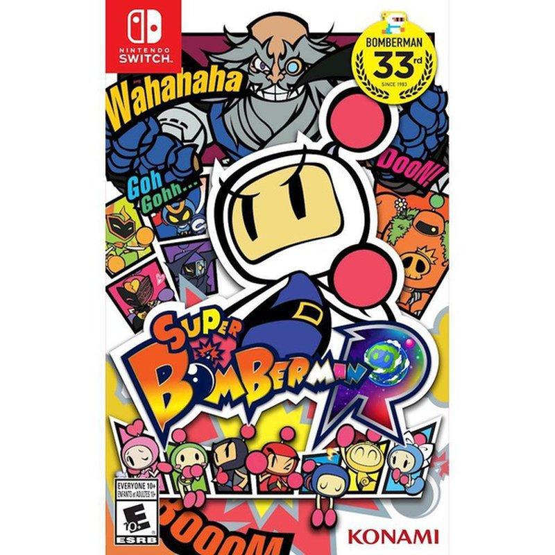Konami Super Bomberman R Nintendo Switch