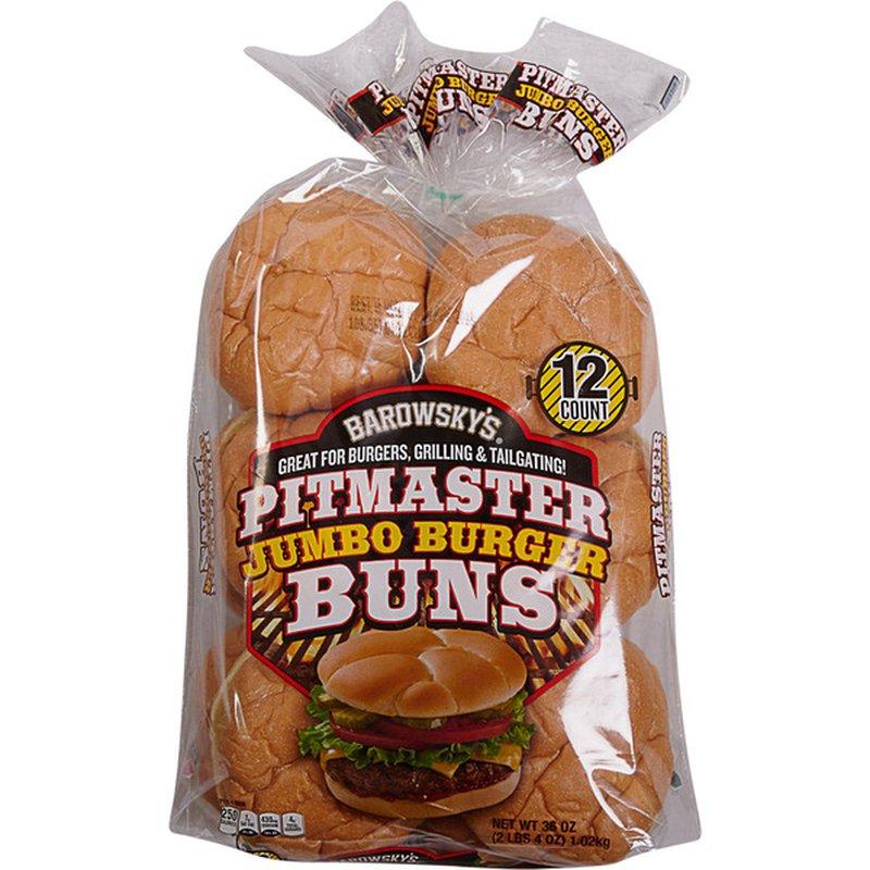 Pitmaster Hamburger Buns