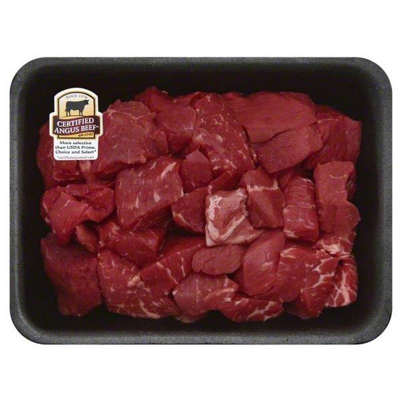 Fresh Certified Angus Beef Boneless Beef For Stew