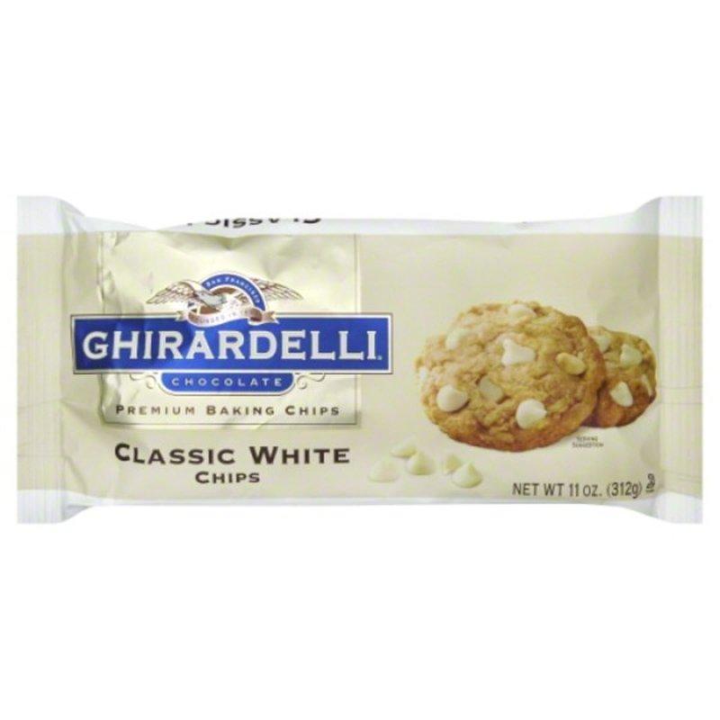 Ghirardelli Chocolate Classic White Chocolate Premium Baking Chips