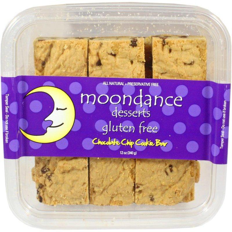 Moondance Dessert Gluten Free Chocolate Chip Cookie Bar