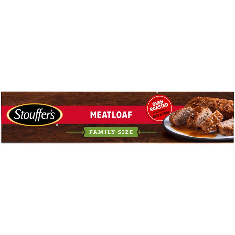 stouffer's family size meatloaf frozen meal 33 oz from