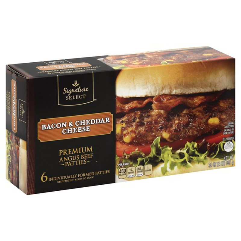 signature select bacon  cheddar cheese 32 oz  instacart