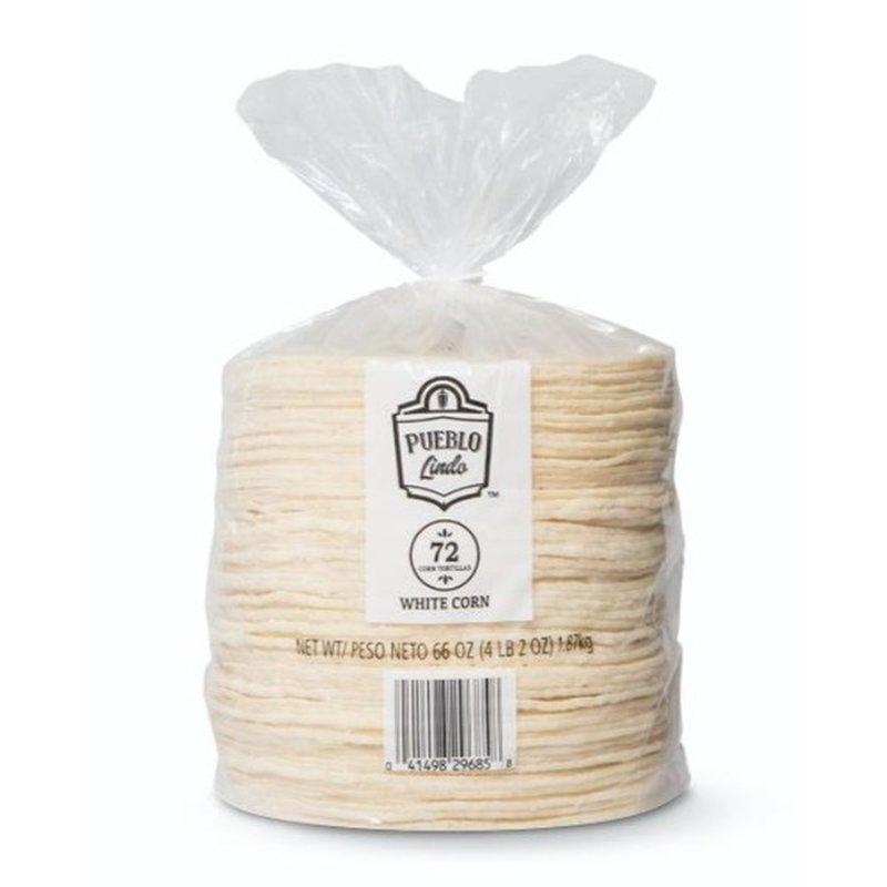 Pueblo Lindo White Corn Tortillas