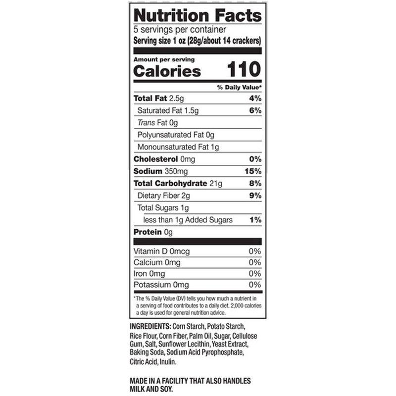Pretzel Crisps® Pretzel Crisps Original Gluten Free (5 oz ...