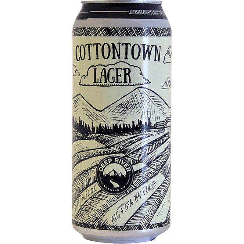 Deep River Snacks Cottontown Lager