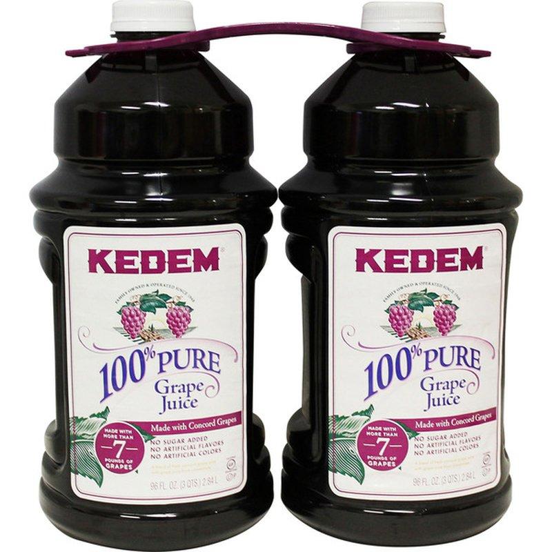 Kedem 100% PURE Grape Juice
