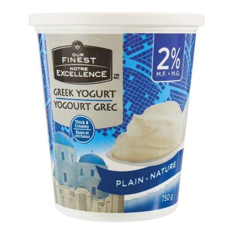 Our Finest 2% Milk Fat Greek Yogurt