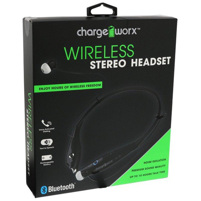 Chargeworx Wireless Bluetooth Headset