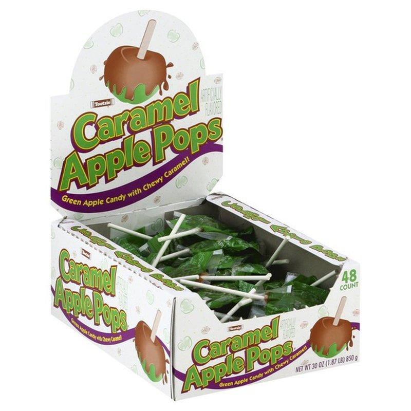 Tootsie Apple Pops Caramel 48 Each Instacart