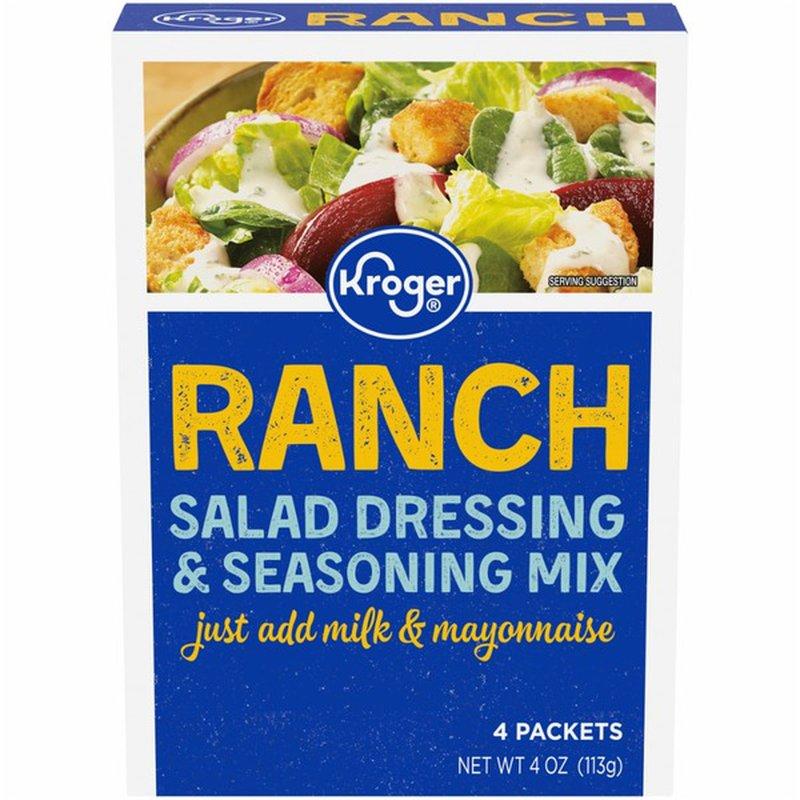 Kroger Ranch Salad Dressing & Seasoning Mix