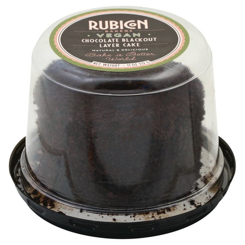 Rubicon Bakers Cake, Chocolate Blackout Layer
