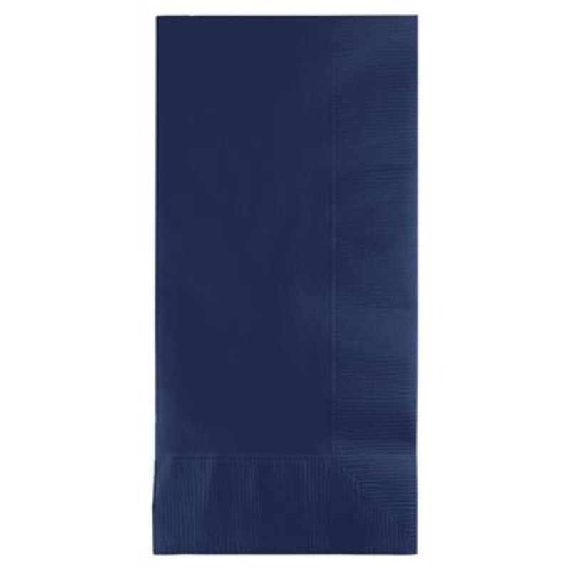 Touch of Color 2-Ply Dinner Paper Napkins - Navy Blue