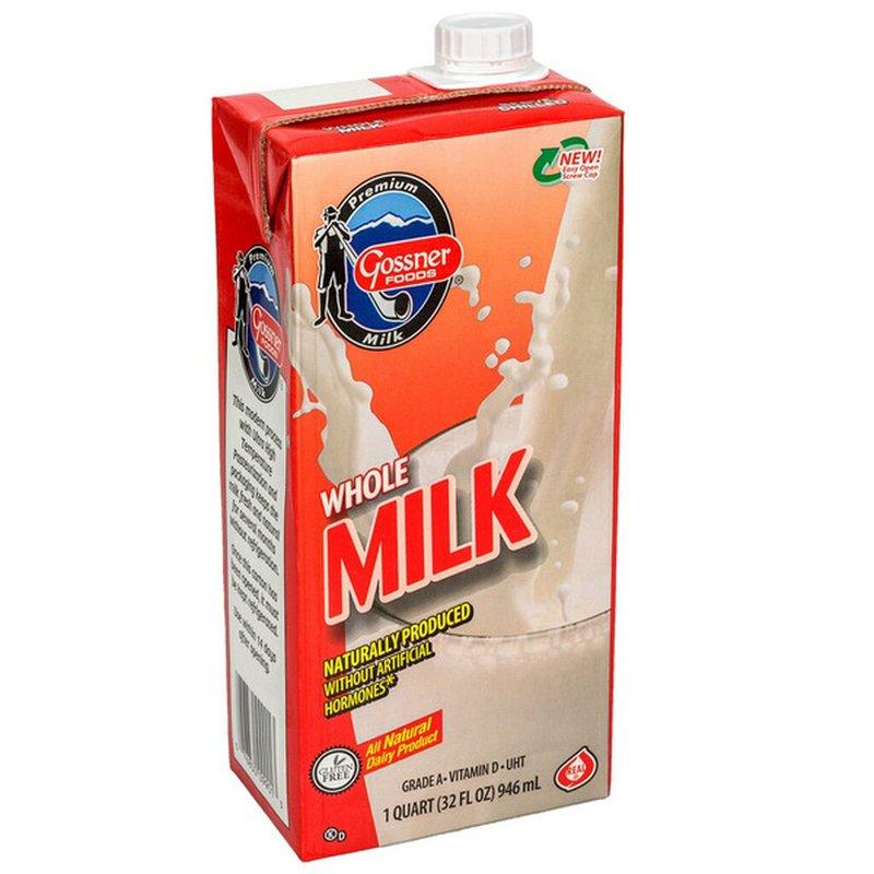 Gossner Foods Whole Milk