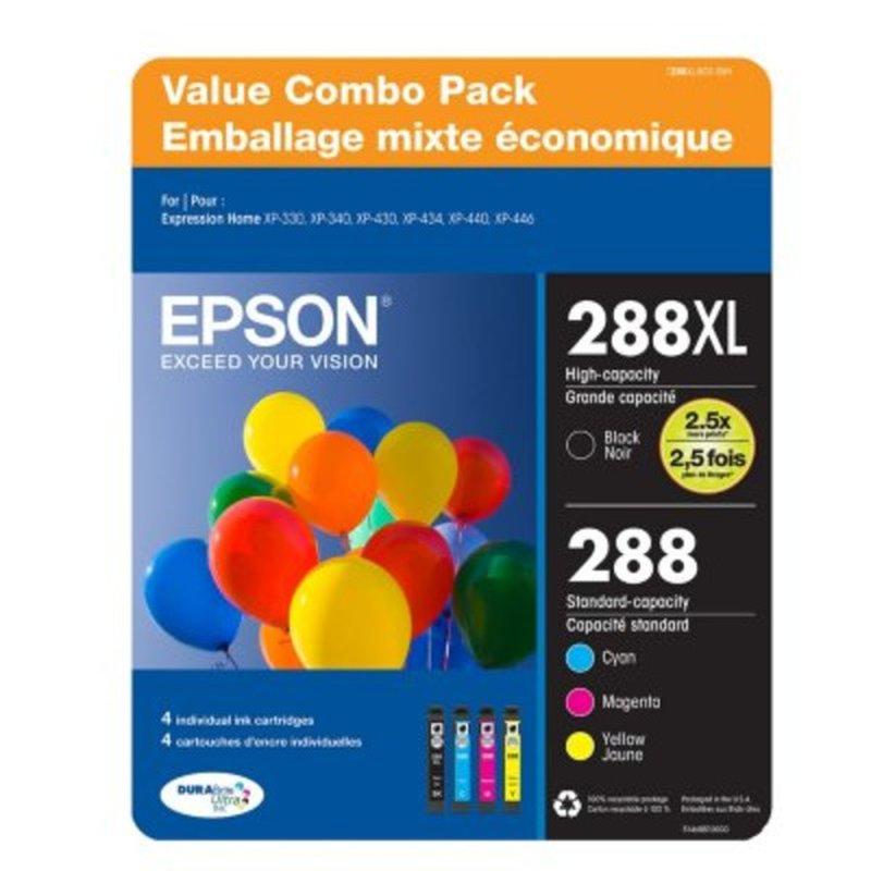 Epson Value Club Pack Dura Brite Ultra 288 Ink