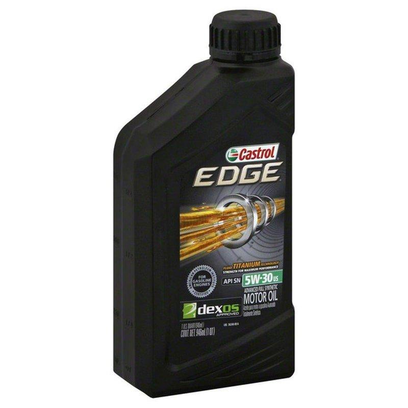 Castrol 5W-30 SAE Full Synthetic Motor Oil