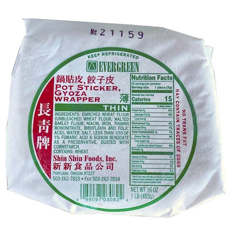 Evergreen Gyoza Potsticker Wrapper