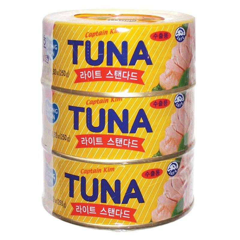 Dongwon Captain Kim Tuna Light Standard 3 Can