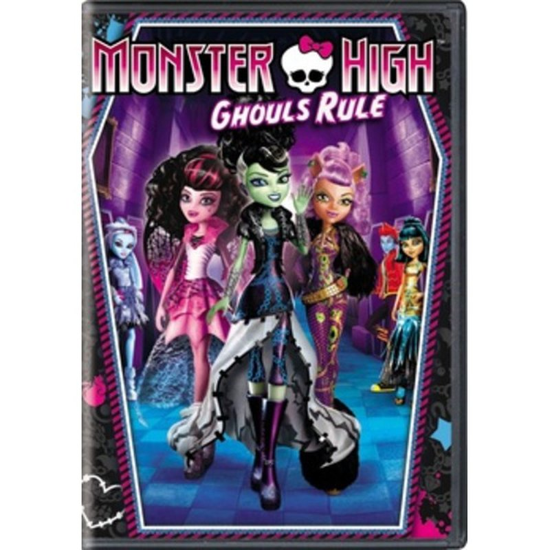 Universal Pictures Monster High Ghouls Rule Dvd