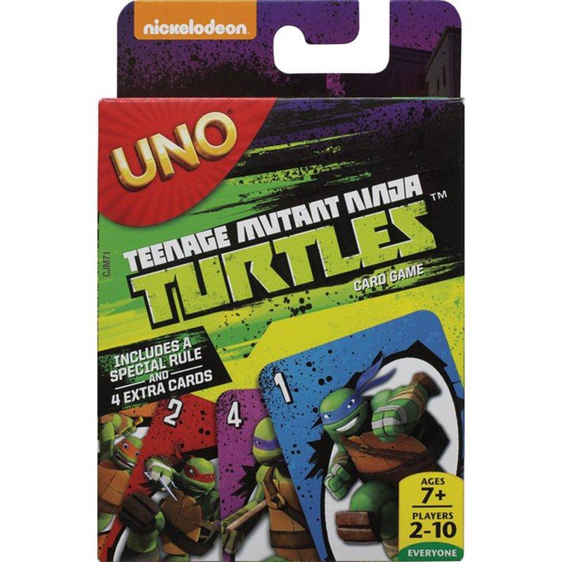 Mattel Uno Teenage Mutant Ninja Turtles