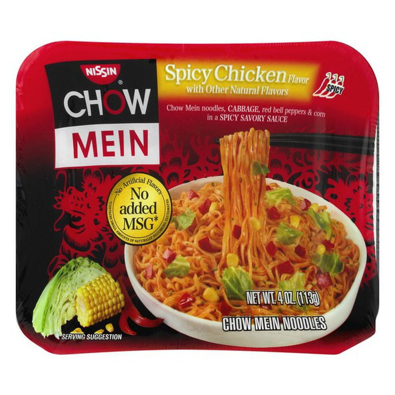 nissin spicy chicken 4 oz  instacart
