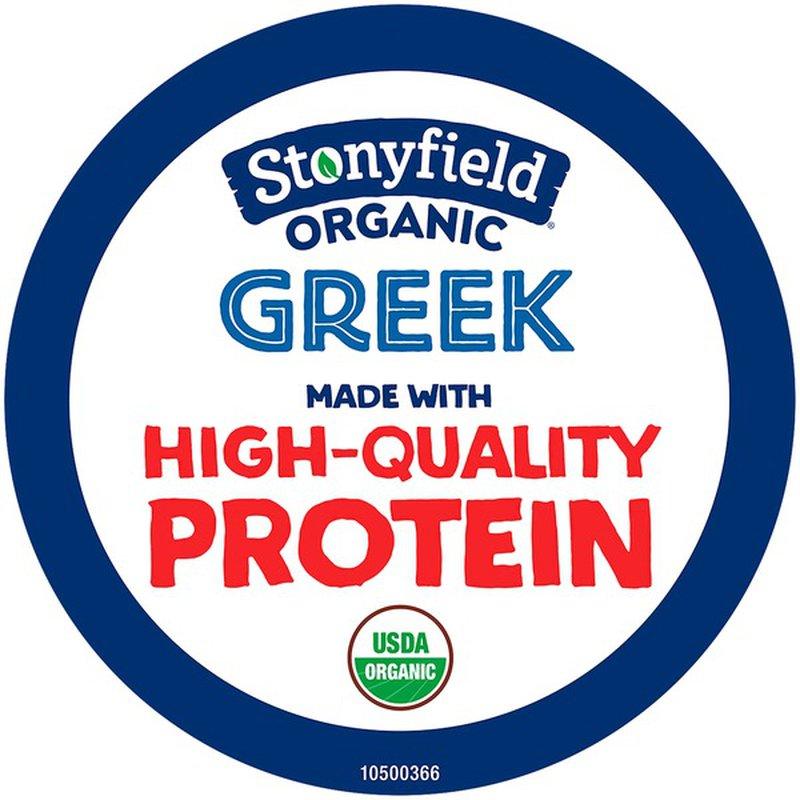 Stonyfield Organic Organic Greek Plain Nonfat Yogurt (5.3 ...