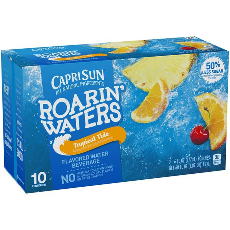 Capri Sun Tropical Fruit Roarin' Waters Juice