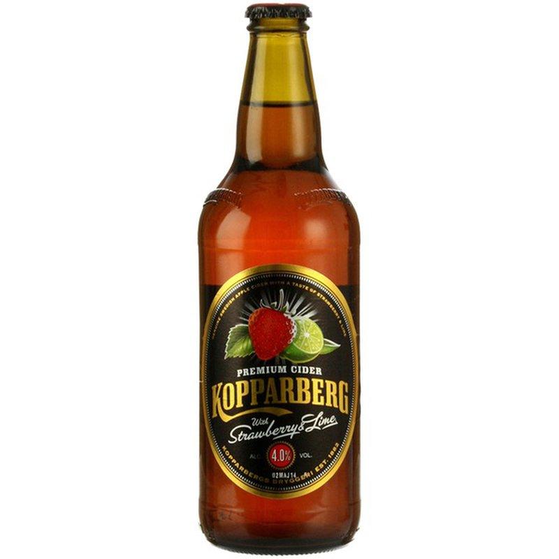 Kopparberg Premium Cider Strawberry & Lime