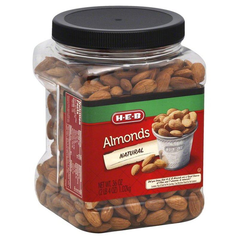 H-E-B All Natural Almonds