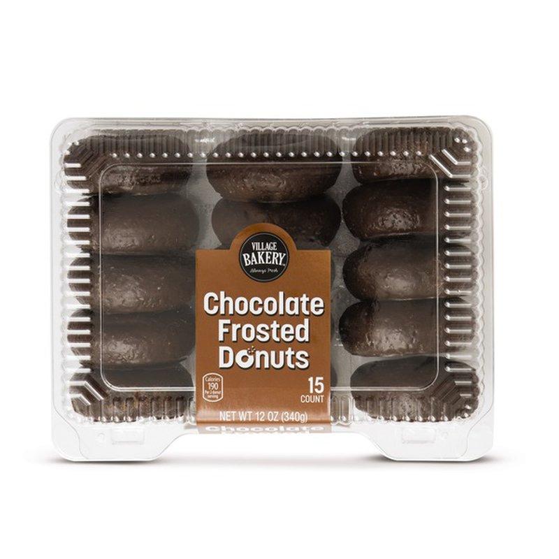 Bake Shop Chocolate Donuts