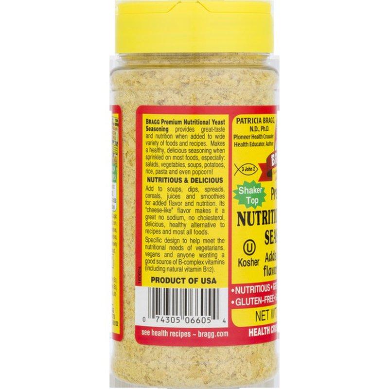 Bragg Yeast Seasoning, Nutritional, Premium