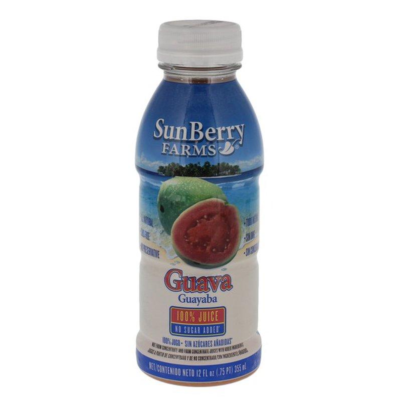 Sunberry Farms 100% Juice, Guava
