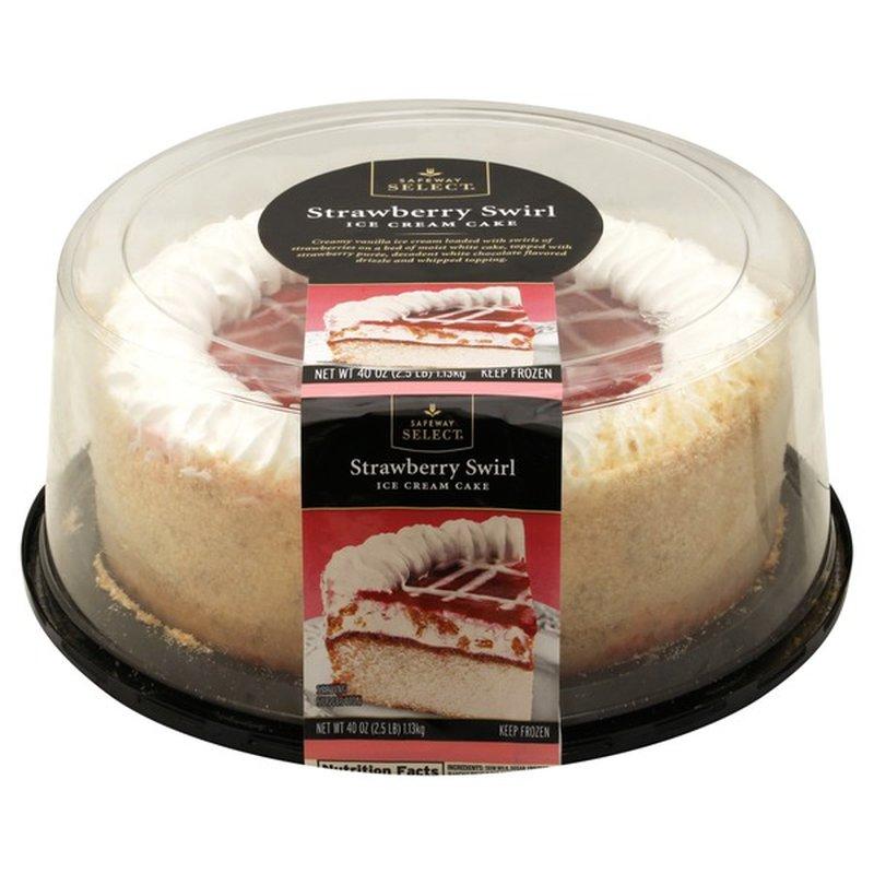 Signature Kitchens Ice Cream Cake