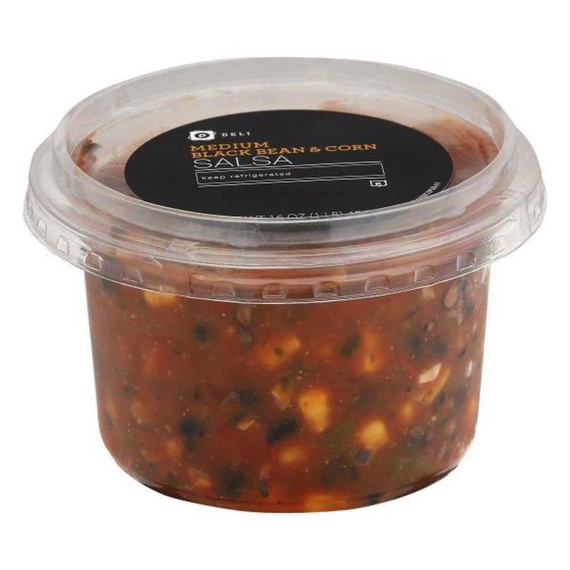 Publix Deli Medium Black Bean Corn Salsa 16 Oz Instacart