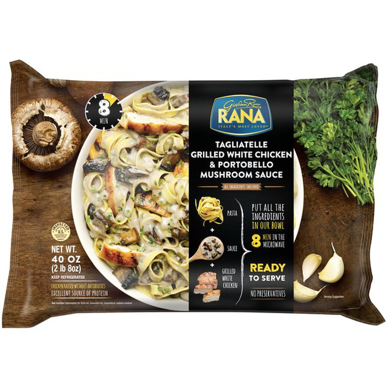 Rana Tagliatelle Grilled White Chicken Portobello Mushroom Sauce 40 Oz Instacart