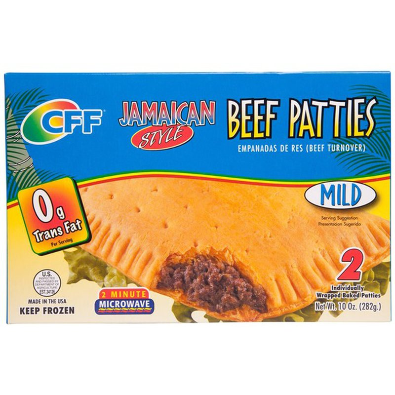 cff jamaican style beef patties empanadas 9 oz from