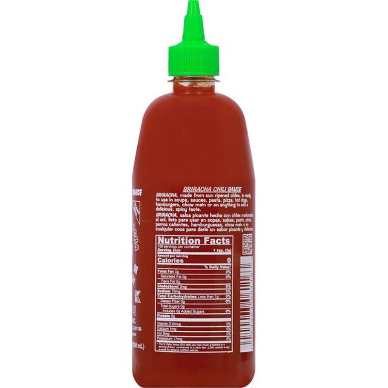 Huy Fong Foods Hot Sriracha Chili Sauce