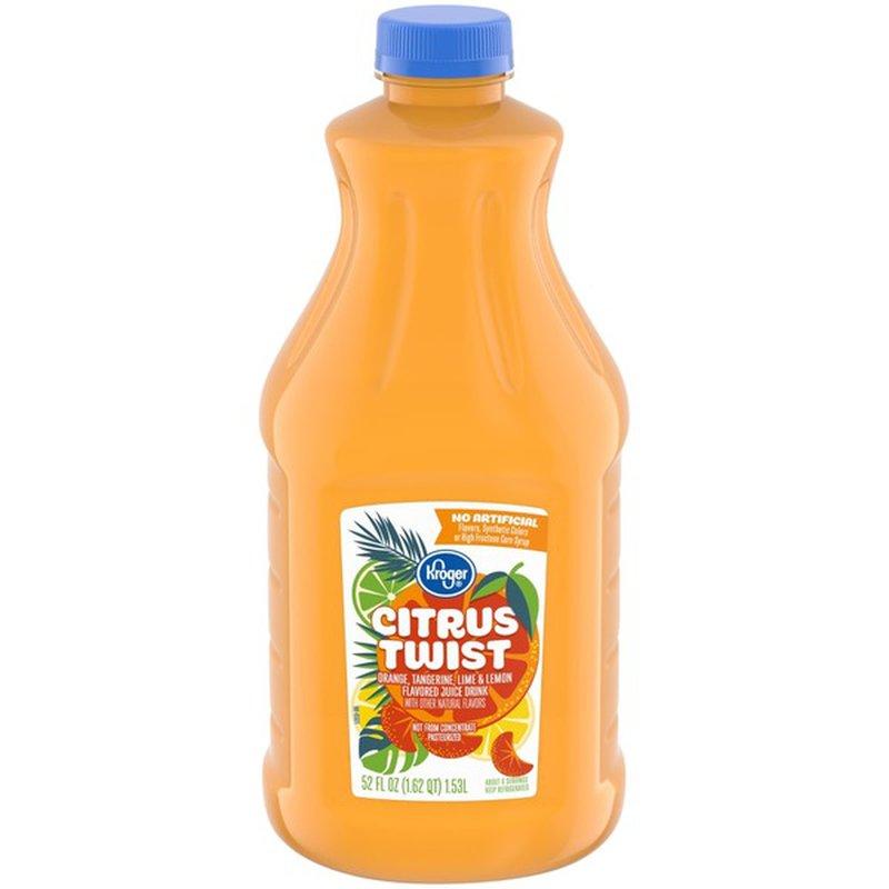 Kroger Citrus Twist Juice Drink
