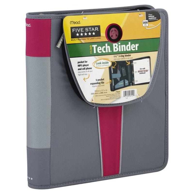 Five Star Binder, Tech, 1-1/2 Inch